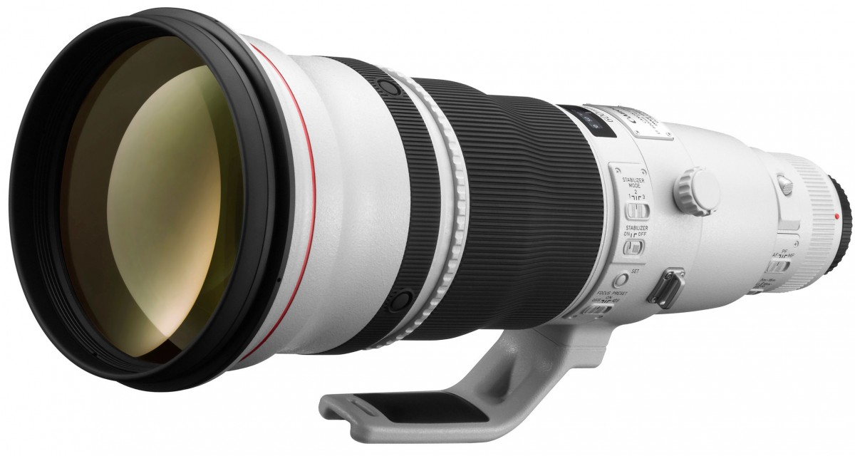 Canon EF 600mm f/4.0L IS USM lens